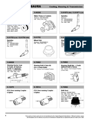 Compacts Sparex S.66828 Steering Sector
