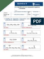 MIV U3 Actividad 2 Identificacion de Compuestos Organicos y Alcoholes