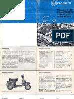 Manuale d'Uso e Manutenzione Px125-150-200-e