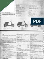 Manuale Meccanica Vespa 50 l n r Special 125 Et2 Et3 Primavera