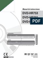 Dvd Hr753 Esp 160gb