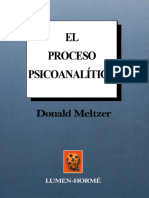 El Proceso Psicoanalitico