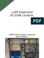 U900 Expansion 3G Duw Location