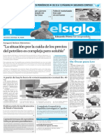 Edición Impresa Elsiglo 01-03-2016