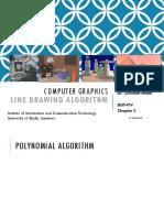 Computer Graphics_Chapter 2 Line Draing Algorithms