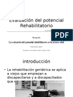 Evaluación Del Potencial Rehabilitatorio