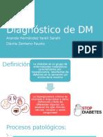 Diagnóstico de DM