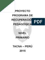 Proyecto Pra Primaria_2015
