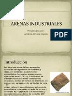 Arenas Industriales