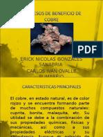 Procesos de Beneficio de Cobre Diapositiva de Exposicion 2do 50
