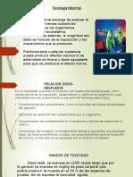 3.1 Toxicología Industrial