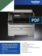FAX 2840 Brochure