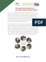 His Holiness Riaz Ahmed Gohar Shahi- An Introduction