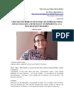 Parte 1 de - Entrevista Con Liliana Marisa Robles