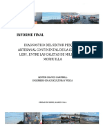 Informe Final Diagnostico Pesca Artesanal de La Comuna de Lebu