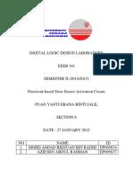 Lab Project Password Based Security Door
