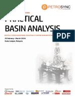 PetroSync - Practical Basin Analysis 2016