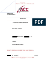 Australian Crime Commission transcripts