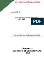 Theories OF CSR