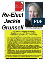 Local Election Leaflet