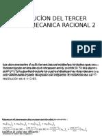 Resolucíon Del Tercer Examen Mecanica Racional 2