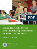04  expanding esl civics and citizenship education in your community a start-up guide m-677