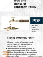 Monetary Policy 11