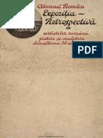 Expozitia Retrospectiva a Artistilor Romani, Pictori Si Sculptori Din Ultimii 50 Ani