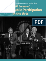 National Endowment for the Arts 2008 Survey of Public Participation in the Arts