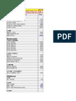 Computer Price List