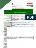 Ficha de inscripción Jornadas Educación Tacoronte (autocompletable)