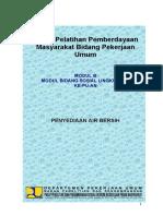 1. Penyediaan Air Bersih