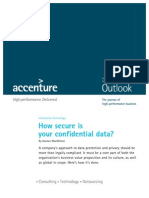 Accenture Outlook How Secure is Data IT2