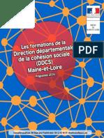 Livret Formations DDDCS 2016