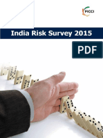 India Risk Survey 2015