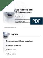 Gap Analysis & Risk Assessment