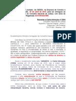 CNJ - Considerações sobre a Carta de Intimação nº 2304