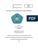 Malpraktek Dan Kaitannya Dengan UU Yang Berlaku(1)