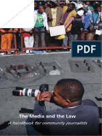 Media and the Law Handbook