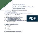 Remidi UH-1 (Bilangan Bulat)