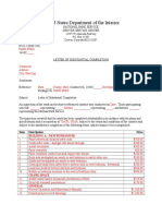 Letterofsubstantialcompletion 5-4-11