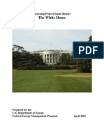11 Greening of the White House Status Report and Accomplishments Propoganda