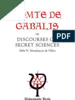 Villars - Comte de Gabalis