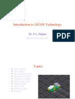 Overviewof MEMS_2016