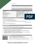 Resume-Gaurav Sharma (HR)