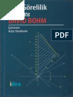 David Bohm    ÖZEL  GÖRELİLİK  KURAMI.pdf