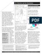 11 Palestine and the Palestinians Fact Sheet_1