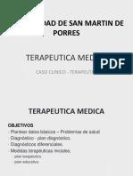 Caso Clínico - Terapéutico NAC - Terapéutica USMP 2015