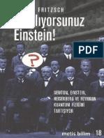 Harald Fritzsch YANILIYORSUN EİNSTEİN (Kuantum Fiziği)