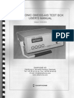 Futronic Gmdss-Ais Test Box User's Manual S-n 990209